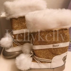 Baby juicy couture snow boots